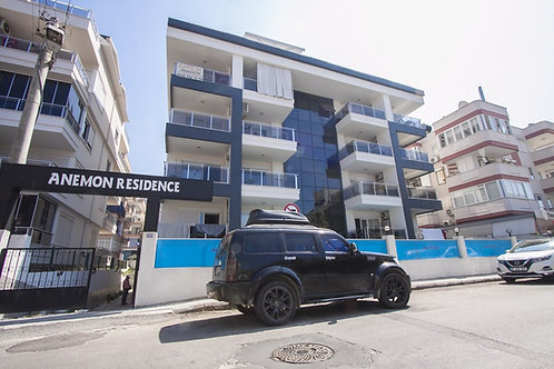 Квартира в Anemon rezidance Алания, рядом пляж Клеопатры (код 201057)