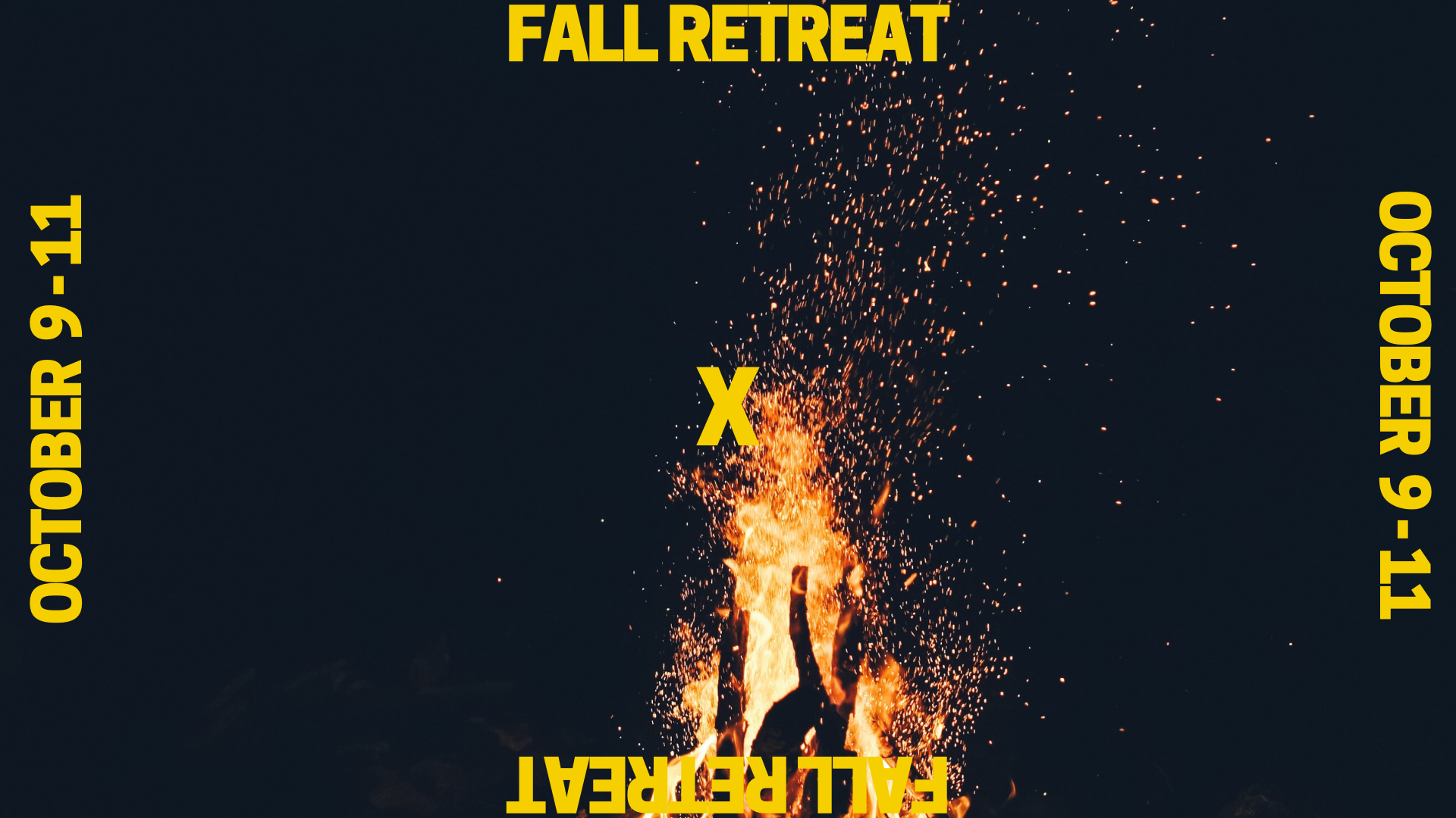 fall retreat slide