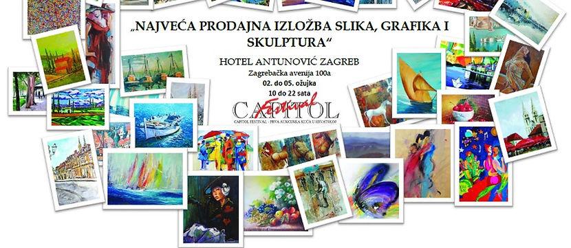 capitol_festival_najveća_izložba_slika_grafika_skulptura_hotel_antunović_capitol festival