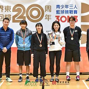 新界東慶回歸20周年青少年3人籃球挑戰賽 Final