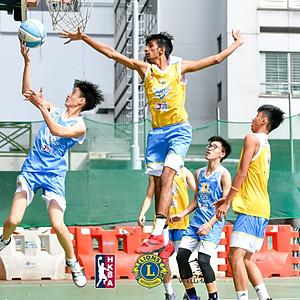 2017獅子會百年慶全港學生三人籃球賽
