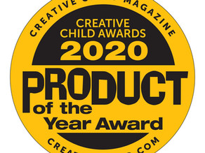 Crawligator Named 2020 Product of the Year by Creative Child Magazine