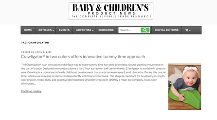 Bay & Children's Product News