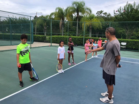 The Debut of the WSA Kids Tennis Camp