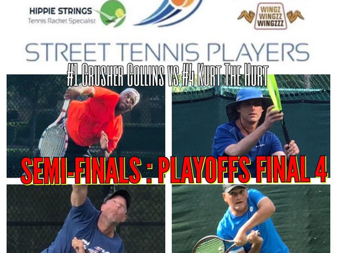 Street Tennis Players: Spring Playoffs Down to the Final Four