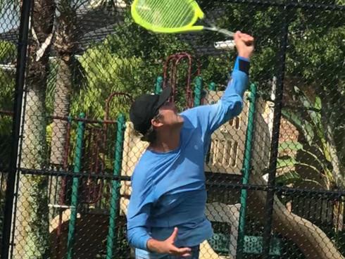 Kurt Collis Wins #1: Sizzles at Street Tennis Playoffs