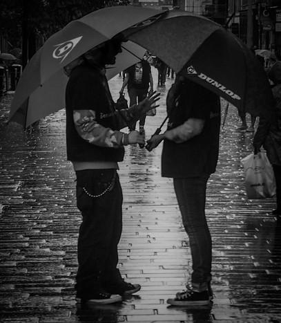 Sidewalk Networking, Glasgow, Scotland