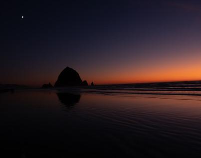 Haystack Rock, Canon Beach, Oregon