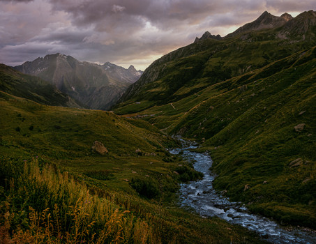 Mt. Blanc Area