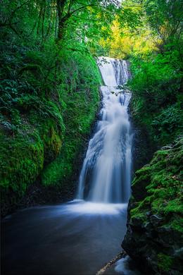 Elowah Falls, Columbia Gorge.