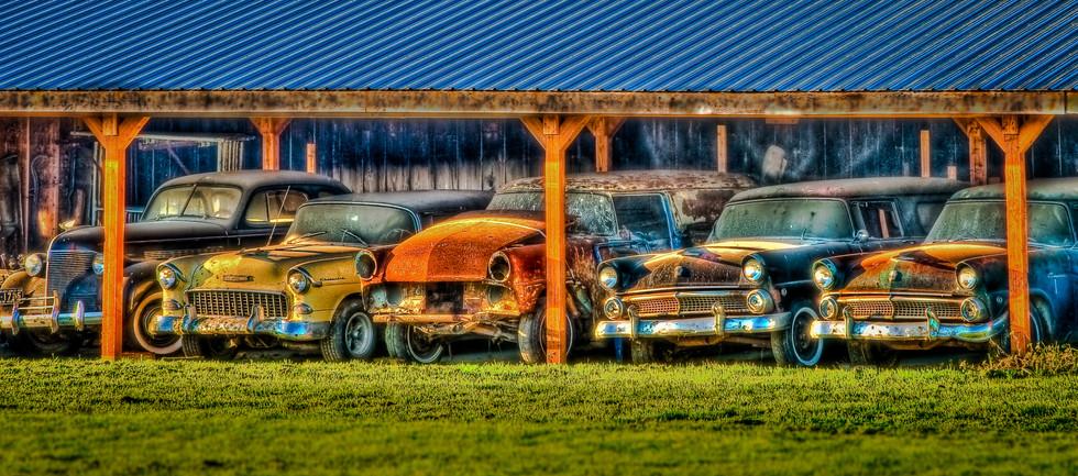 Old cars - Sequim