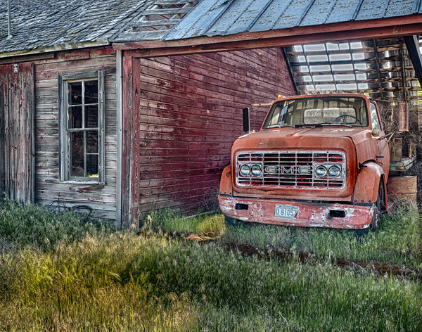 Farm Truck, Palouse, Washington