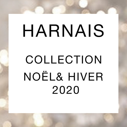 Harnais en H collection Noël/Hiver
