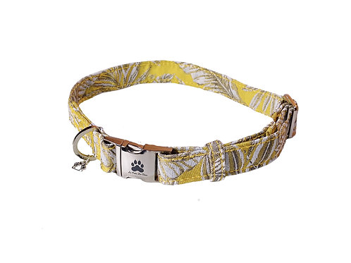 "Collier pour chien ""Yellow Jungle"""
