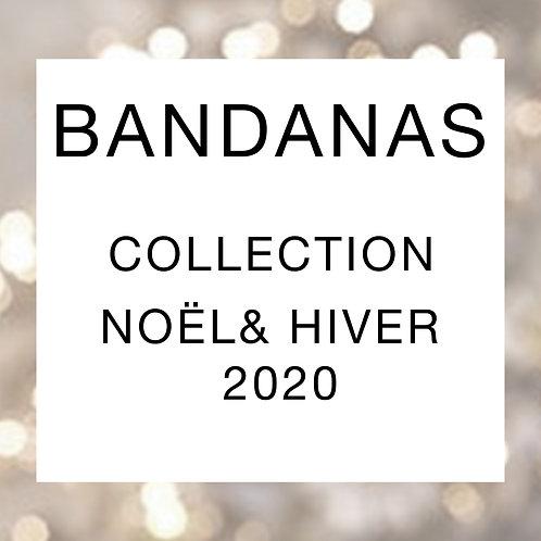 Bandana pour chien collection Noël/Hiver