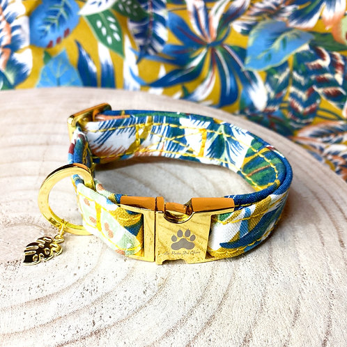 "Collier pour chien ""Colorful Jungle"""