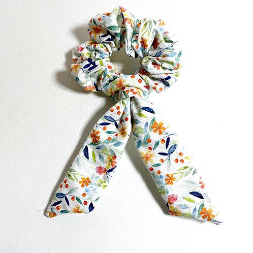 """Chouchou scrunchie avec ou sans ruban """" Botanical """""""