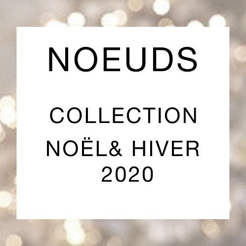 Noeud papillon pour chien collection Noël / Hiver