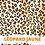 Thumbnail: Chouchou scrunchie avec ou sans ruban Léopard jaune