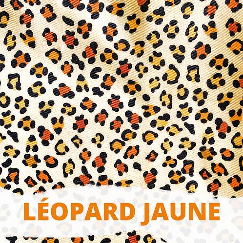 """Harnais en H pour chien """"Léopard jaune"""""""