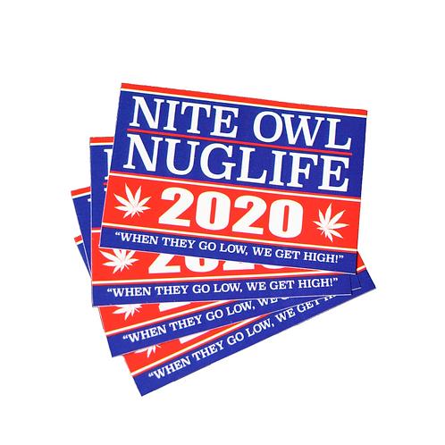 Nite Owl / NugLife 2020 [Sticker Slap Pack]