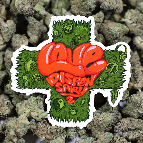 The Love Dispensary 2 [Sticker Slap Pack]