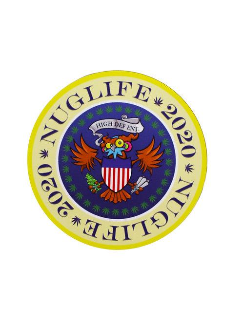 NugLife Seal Emblem  [Sticker Slap pack]