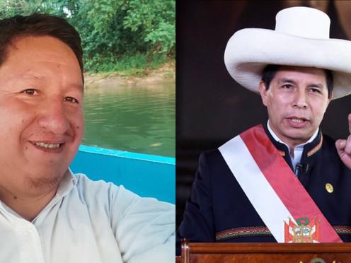 """BELLIDO: """"CON EL APOYO DE CASTILLO O SIN SU APOYO, VAMOS A TENER NUEVA CONSTITUCIÓN"""""""