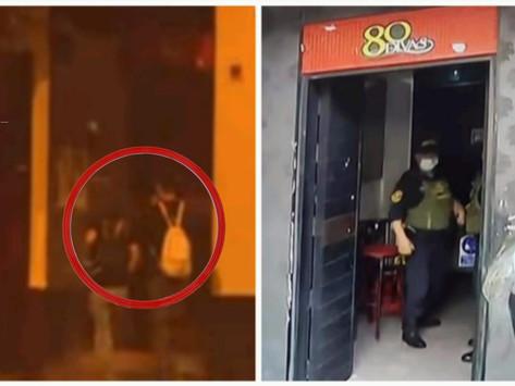 [VIDEO] LINCE: MÁS DE 40 PERSONAS ATRINCHERADAS EN DISCOTECA '80 DIVAS'