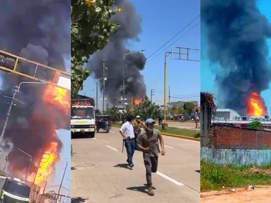 10 MUERTOS Y MÁS DE TRES HERIDOS DEJA EXPLOSIÓN DE PLANTA DE GAS EN UCAYALI