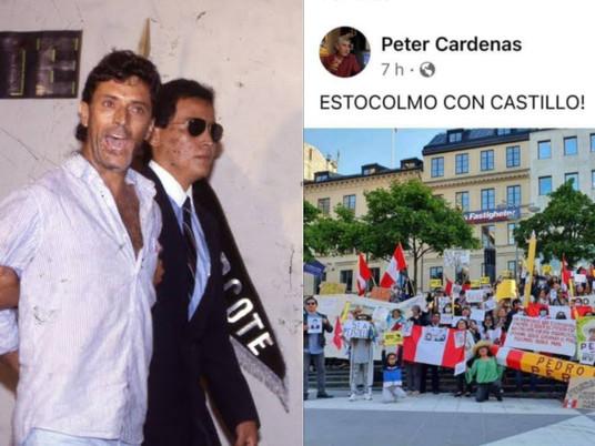 TERRORISTA N°2 DEL MRTA HACE CAMPAÑA A FAVOR DE PEDRO CASTILLO EN SUECIA