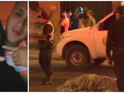 FUTBOLISTA ATROPELLA Y MATA A PAREJA DE JOVENES EN CHORRILLOS