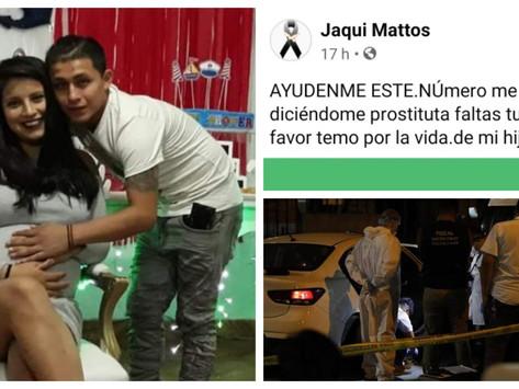 """ESPOSA DE """"LIENDRITA"""" ES AMENAZADA DE MUERTE: """"AHORA FALTAS TÚ""""."""