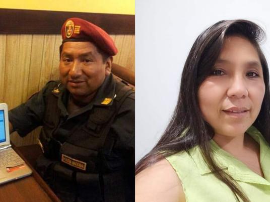 POLICÍA ASESINA A BALAZOS A SU ESPOSA Y LUEGO SE SUICIDA EN CARABAYLLO