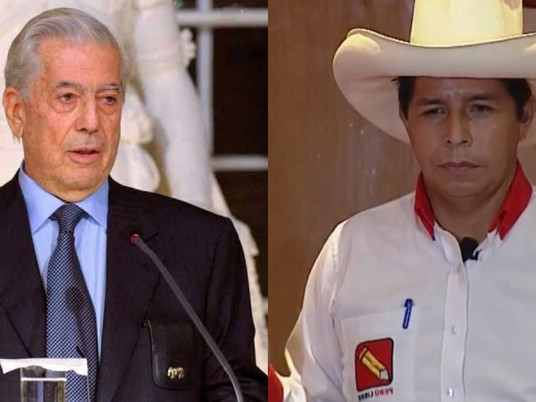"""MVLL SOBRE CASTILLO: SI SALE ELEGIDO, QUIZÁ NO HAYA MÁS ELECCIONES LIBRES EN PERÚ""""."""
