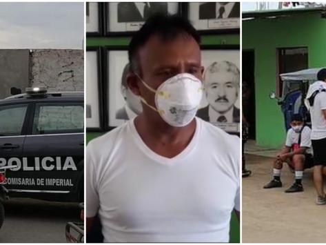 PNP INTERVIENE EN CAMPEONATO DE FÚTBOL Y HALLA A REGIDOR MUNICIPAL