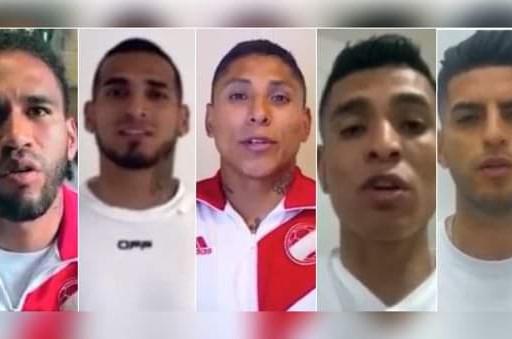 """JUGADORES DE LA SELECCIÓN PERUANA LANZAN LA CAMPAÑA """"PONTE LA CAMISETA""""."""
