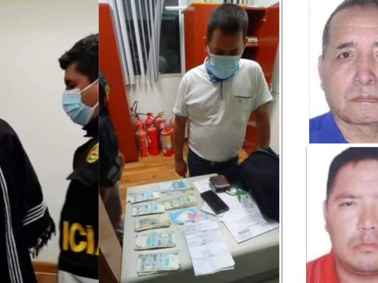 DETIENEN A DOS ALCALDES POR DIRIGIR PRESUNTA ORGANIZACIÓN CRIMINAL EN PIURA