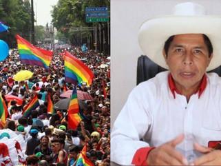 """PEDRO CASTILLO CRITICA COMUNIDAD LGTBI: """"AL TACHO DE BASURA ESA ACTITUD"""""""