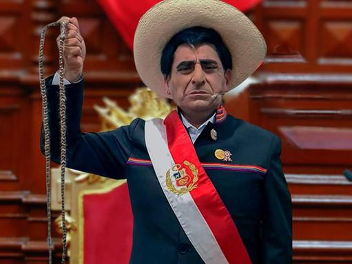 ¡MAESTRO! CARLOS ALVAREZ IMITARÁ AL PRESIDENTE PEDRO CASTILLO.