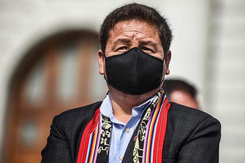 EL PUEBLO Y CONGRESISTAS PIDEN LA RENUNCIA DE PREMIER GUIDO BELLIDO POR CAMISEA