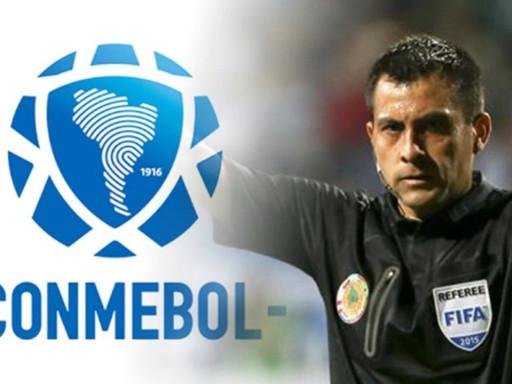 FPF RECLAMARÁ ANTE CONMEBOL POR ARBITRAJE DE JULIO BASCUÑAN EN PERÚ VS. BRASIL.