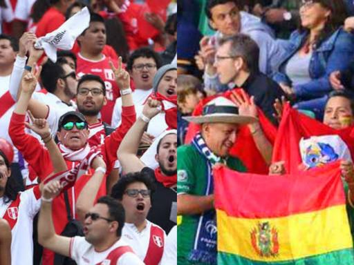BOLIVIA VS. PERÚ: HINCHAS PERUANOS NO PODRÁN USAR CAMISETA EN ESTADIO BOLIVIANO