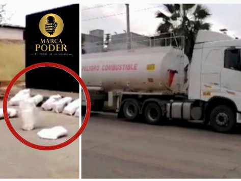 PNP HALLA DROGA DENTRO DE CAMIÓN CISTERNA EN EL CALLAO