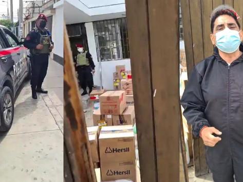 ROBAN DONACIONES PARA MÁS NECESITADOS DE CASA DE CARLOS ÁLVAREZ