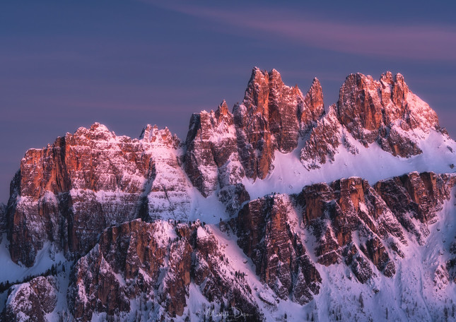 """Alpine Twilight"""