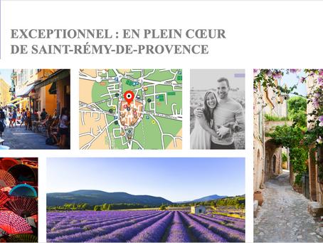 Habiter ou vivre à Saint Rémy de Provence dans un appartement neuf : c'est désormais possible