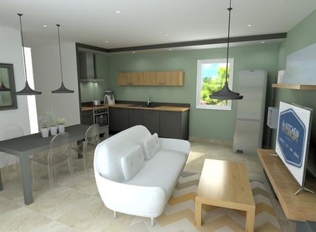 Découvrez My Kitchen My Concept, designer et agenceur d'espaces pour les résidences Bleu Lavande