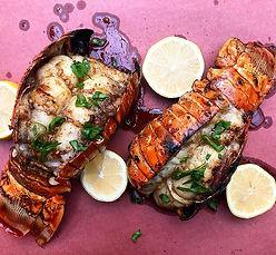 Garlic Dijon Lobster Tails 🦞_._._._._#b