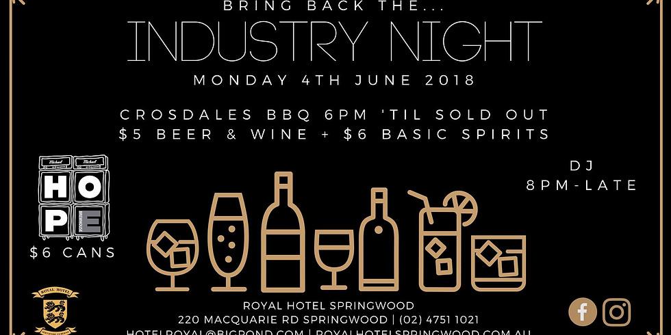 Crosdales BBQ x Royal Hotel Springwood
